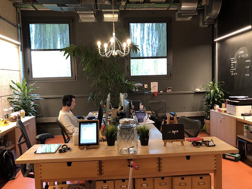 L'ufficio è come un tempio curato in ogni dettaglio